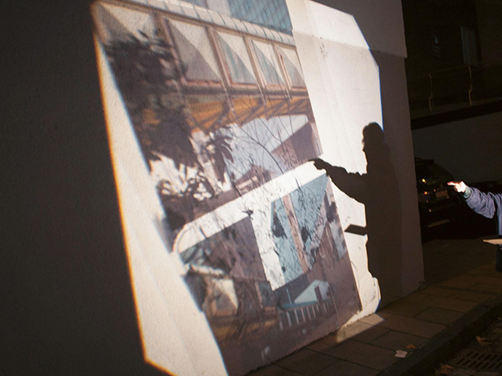 Lange Nacht der Museen Stuttgart - Ateliergemeinschaft Ue12 bearbeitet
