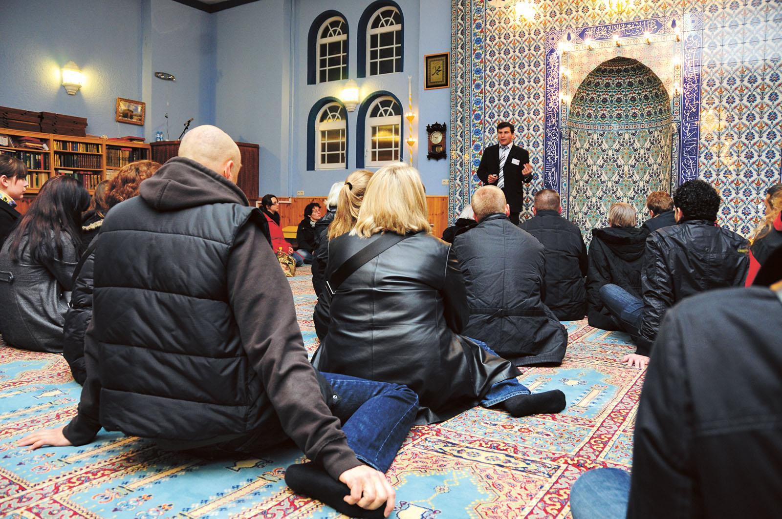 Lange Nacht der Museen Stuttgart - Feuerbacher Moschee Fuehrungen