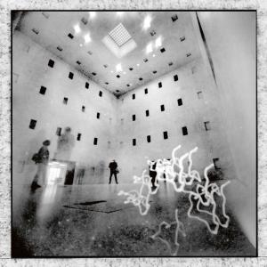 Lange Nacht der Museen Stuttgart - Galerie Camera Obscura Lochbildkamera unbearbeitet
