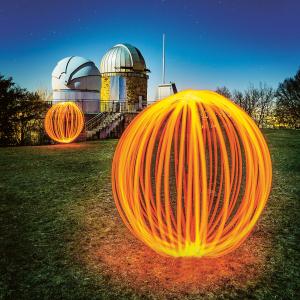 Lange Nacht der Museen Stuttgart - Ikone Studio Lichtkugel Sternwarte