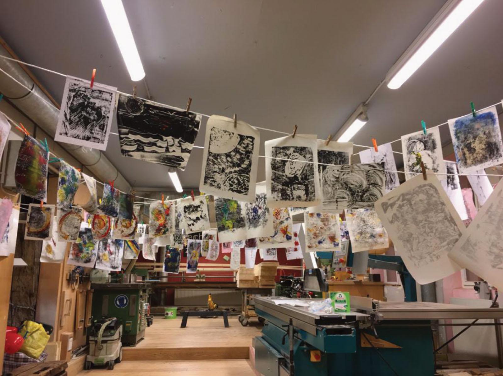 Lange Nacht der Museen Stuttgart - Kuenstlergruppe Experiment