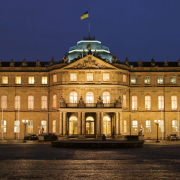 Lange Nacht der Museen Stuttgart - Neues Schloss Stuttgart Aussenaufnahme