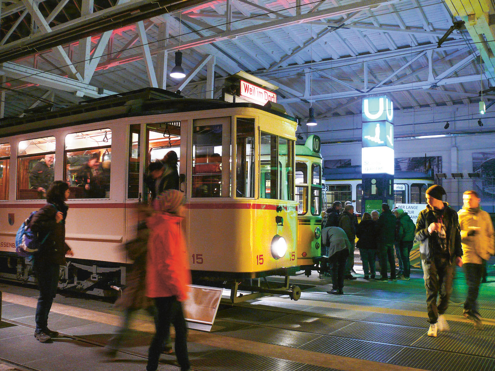 Lange Nacht der Museen Stuttgart - Strassenbahnmuseum Stuttgart Sonderausstellung