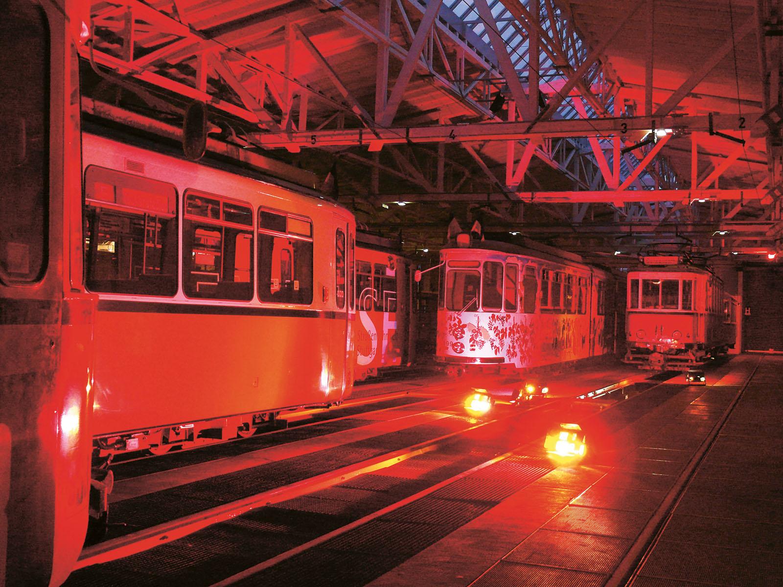 Lange Nacht der Museen Stuttgart - Strassenbahnmuseum Stuttgart