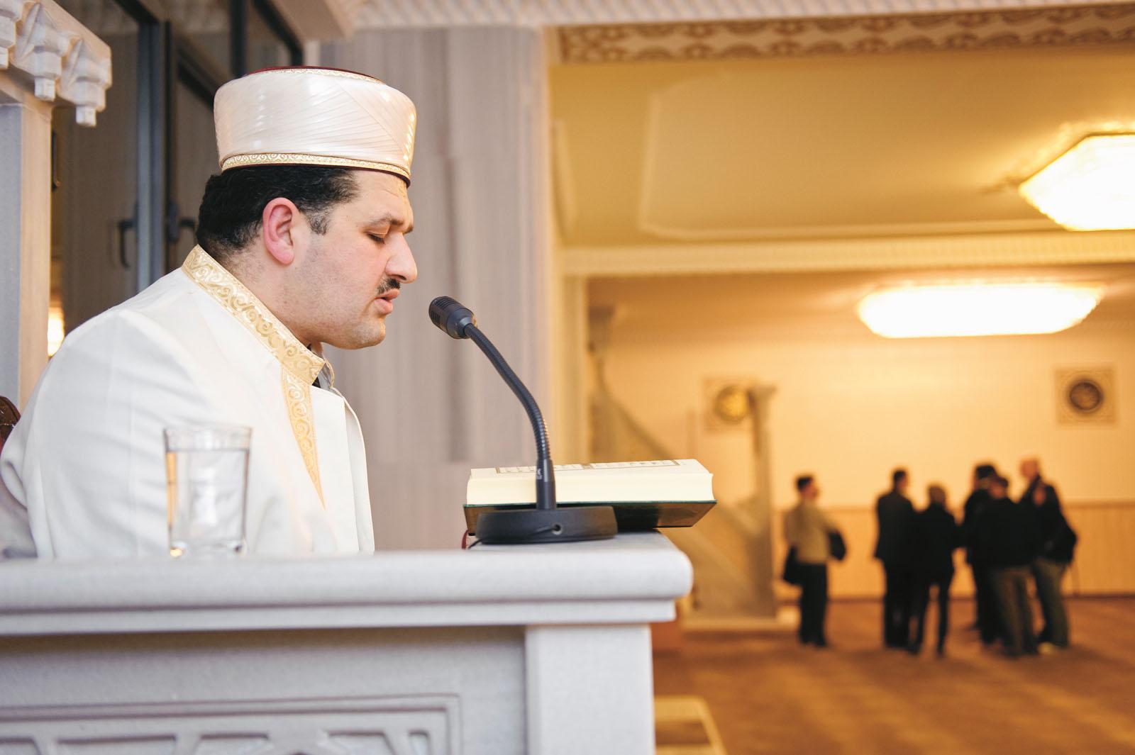 Lange Nacht der Museen Stuttgart - Stuttgarter Moschee Koran Rezitation