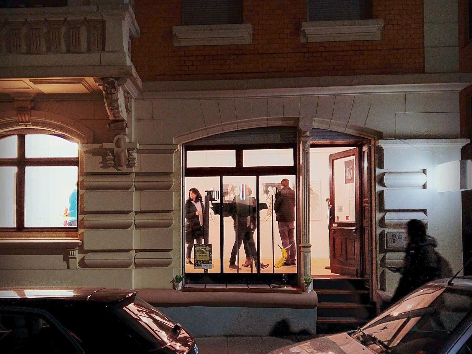 Lange Nacht der Museen Stuttgart - Die Raumgalerie aussen