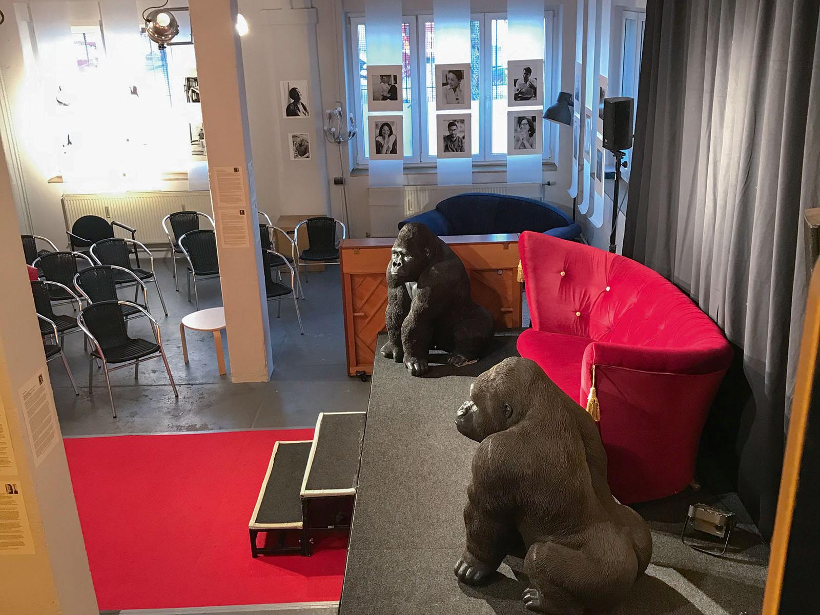 Lange Nacht der Museen Stuttgart - Ikone Studio innen