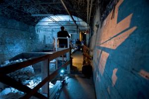 Lange Nacht der Museen Stuttgart - Ausgrabungen unter dem Alten Scloss in Tonne 2
