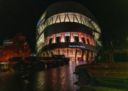 Lange Nacht der Museen Stuttgart - Eröffnungsabend 17.10.   Sonderausstellung: 40 Jahre G Klasse