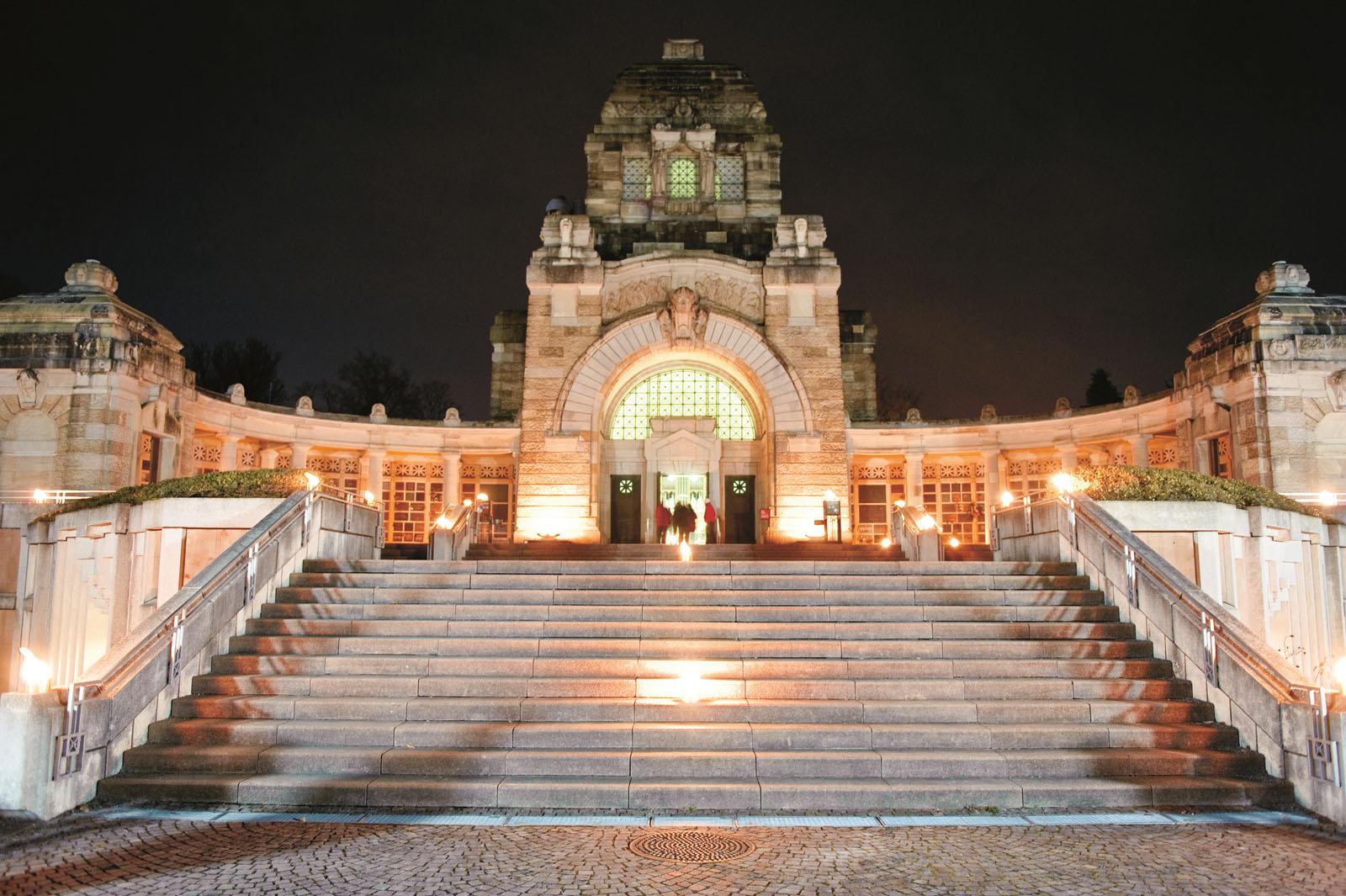 Lange Nacht der Museen Stuttgart - Pragfriedhof aussen