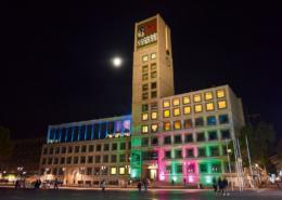 Lange Nacht der Museen Stuttgart - Rathaus aussen