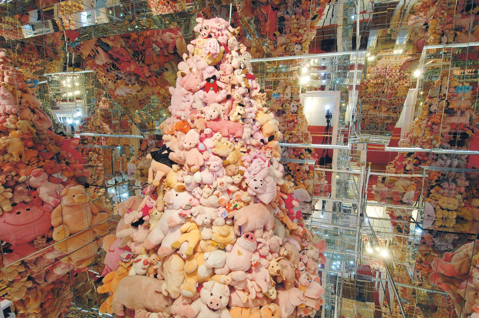 Lange Nacht der Museen Stuttgart - Schweinmuseum Kuscheltiere Schweinchen