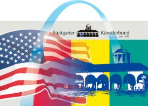 Lange Nacht der Museen Stuttgart - Sonderausstellung 1 Amerika Cafe Künstlerbund