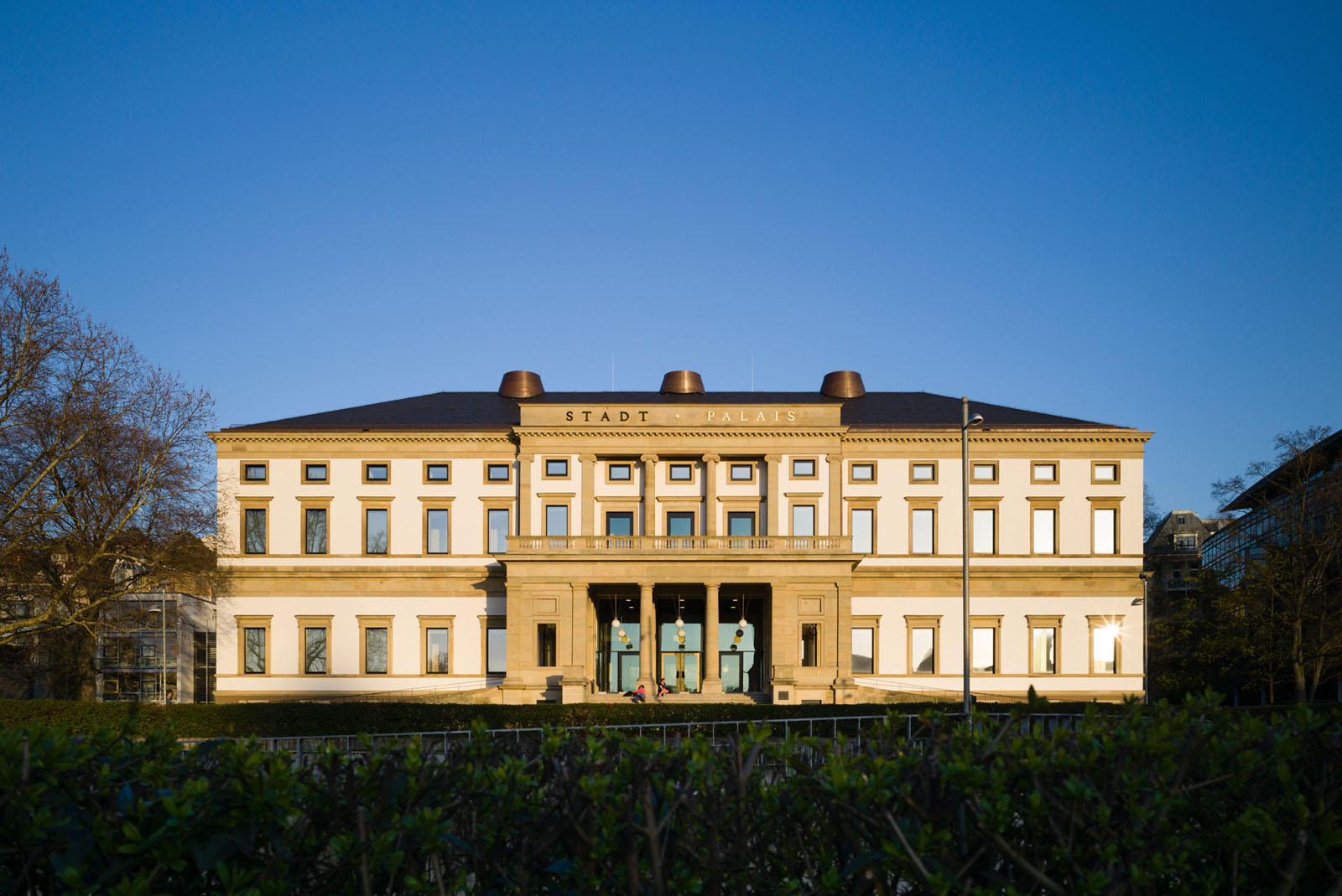 Lange Nacht der Museen Stuttgart - Stadt Palais aussen