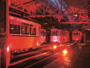 Lange Nacht der Museen Stuttgart - Straßenbahnmuseum aussen1