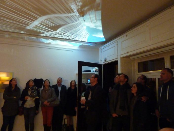 Architektonische Aufführungen in der Raumgalerie