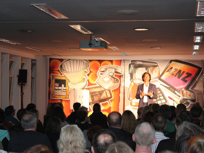 Christoph Sonntag im Toto-Lotto Museum
