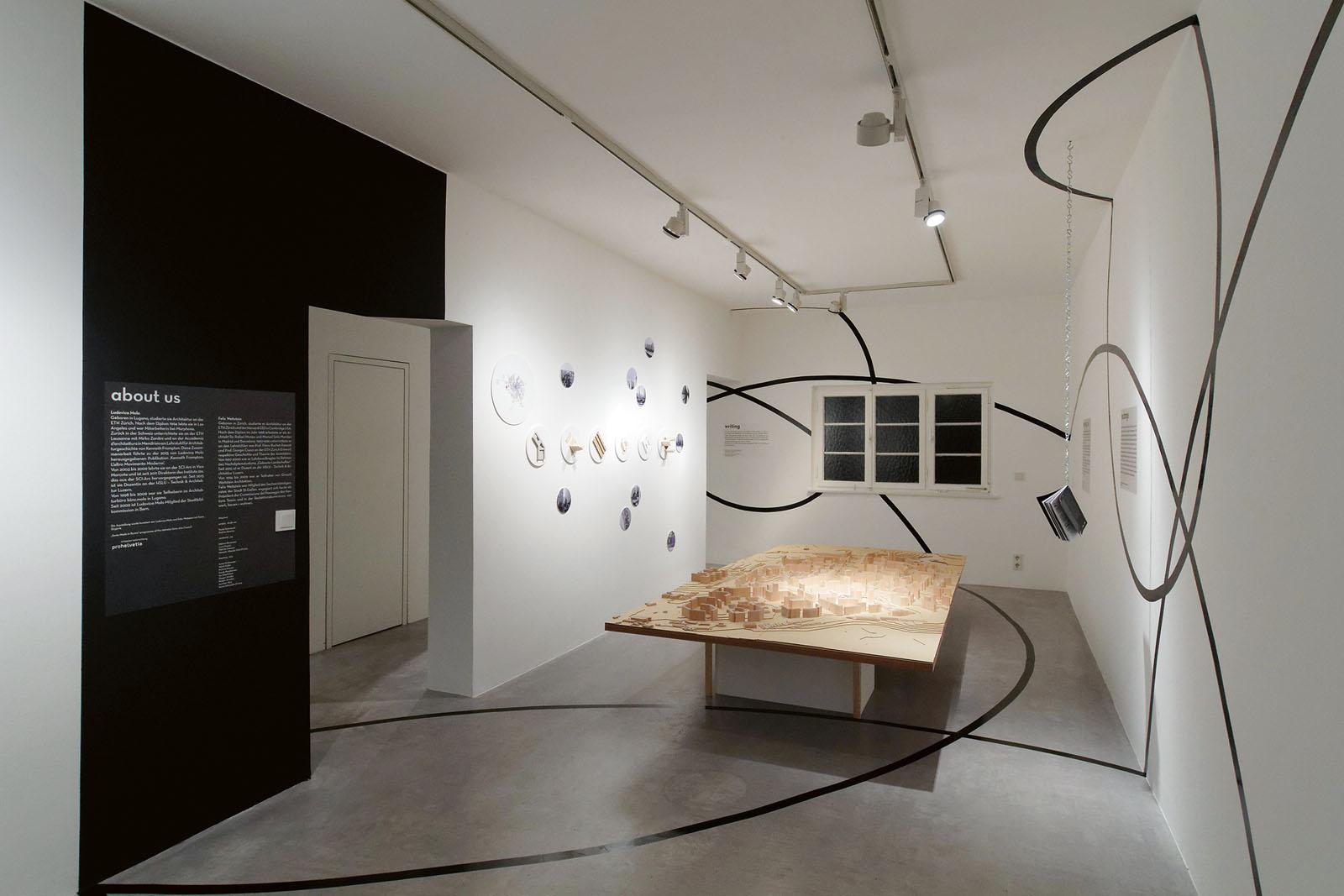 Lange Nacht der Museen Stuttgart - Architekturgalerie Ausstellungsraum