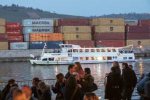 Lange Nacht der Museen Stuttgart - Hafen Rundfahrt