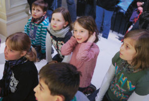 Lange Nacht der Museen Stuttgart - Haus der Geschichte Kinderfuehrung 1