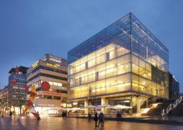 Lange Nacht der Museen Stuttgart - Kunstmuseum Aussenansicht