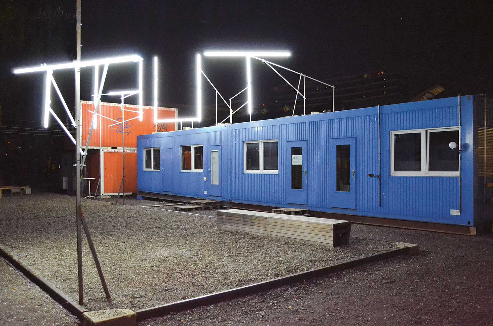 Lange Nacht der Museen Stuttgart - Kunstverein Wagenhalle Container