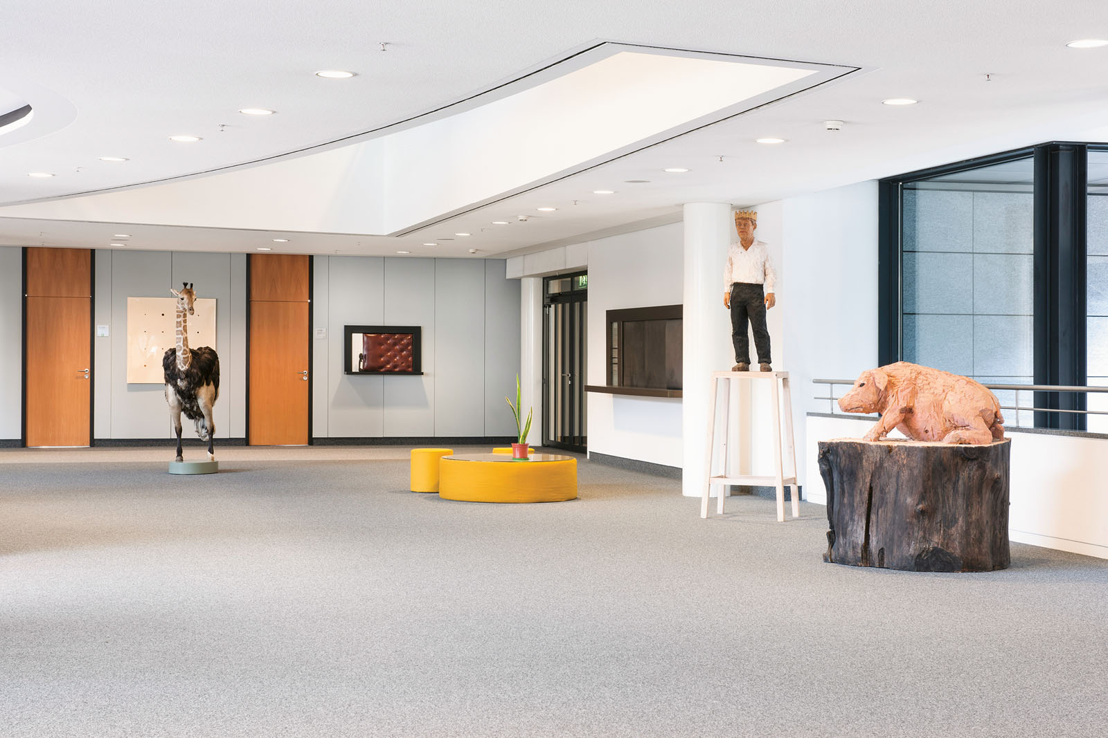 Lange Nacht der Museen Stuttgart - LBBW Kunstsammlung Innenansicht 2