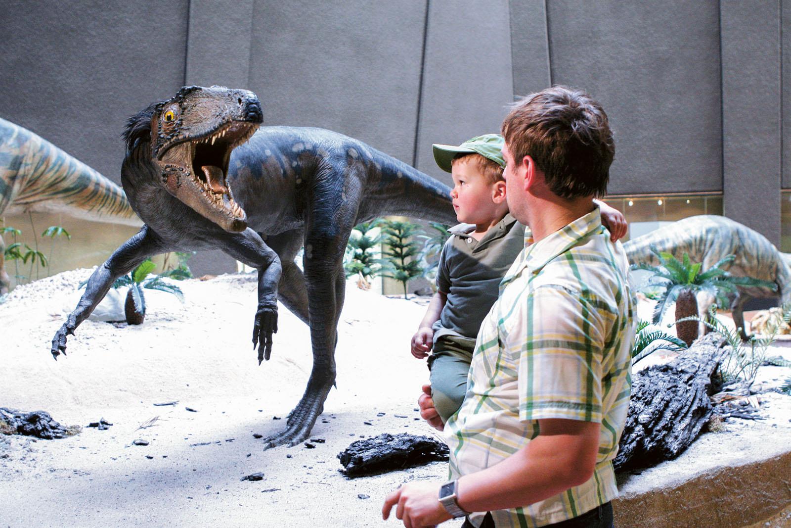 Lange Nacht der Museen Stuttgart - Museum am Loewentor Dinosaurier