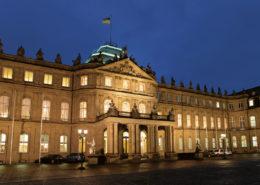 Lange Nacht der Museen Stuttgart - Neues Schloss Aussenansicht