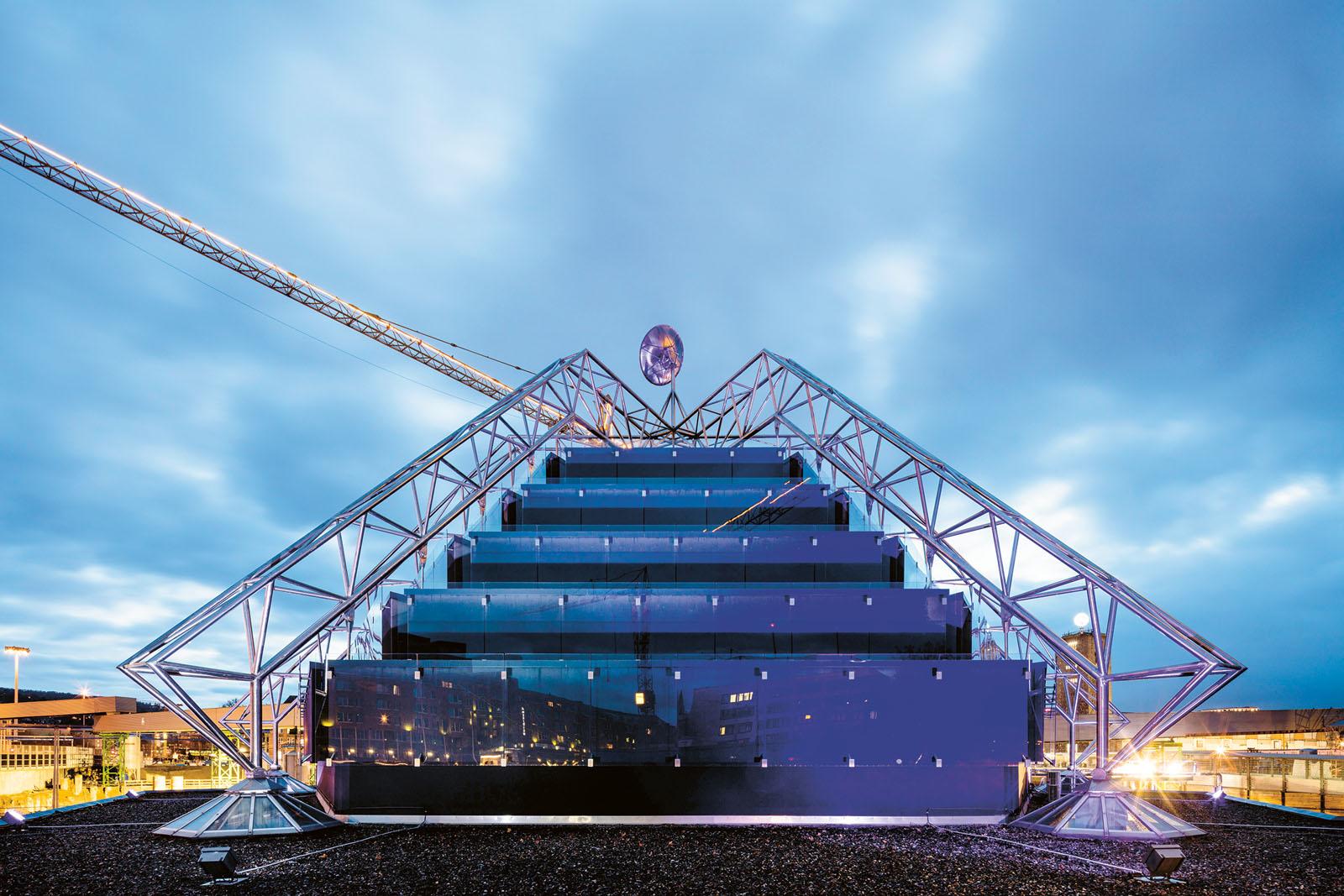 Lange Nacht der Museen Stuttgart - Planetarium Aussenansicht