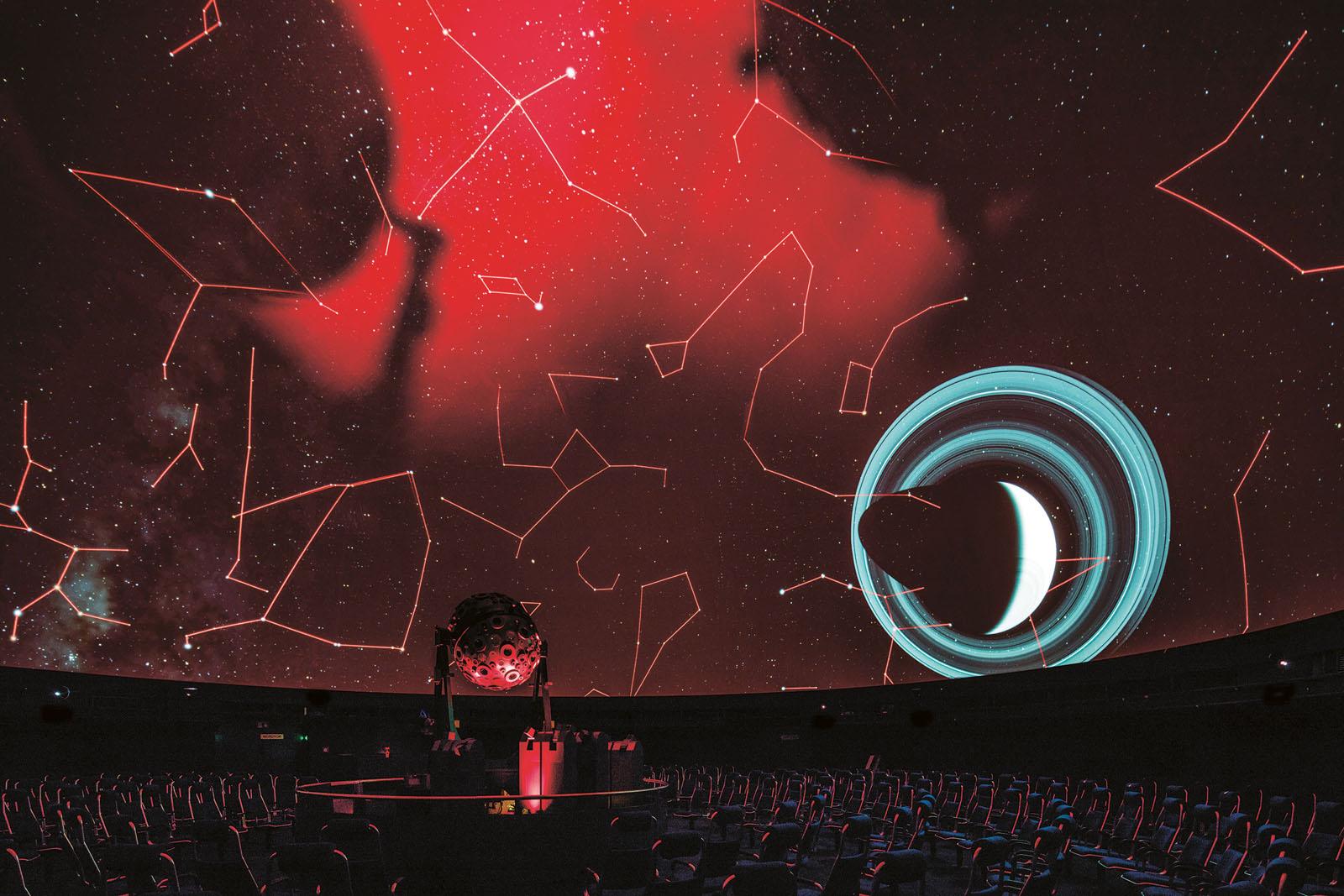 Lange Nacht der Museen Stuttgart - Planetarium Saturn