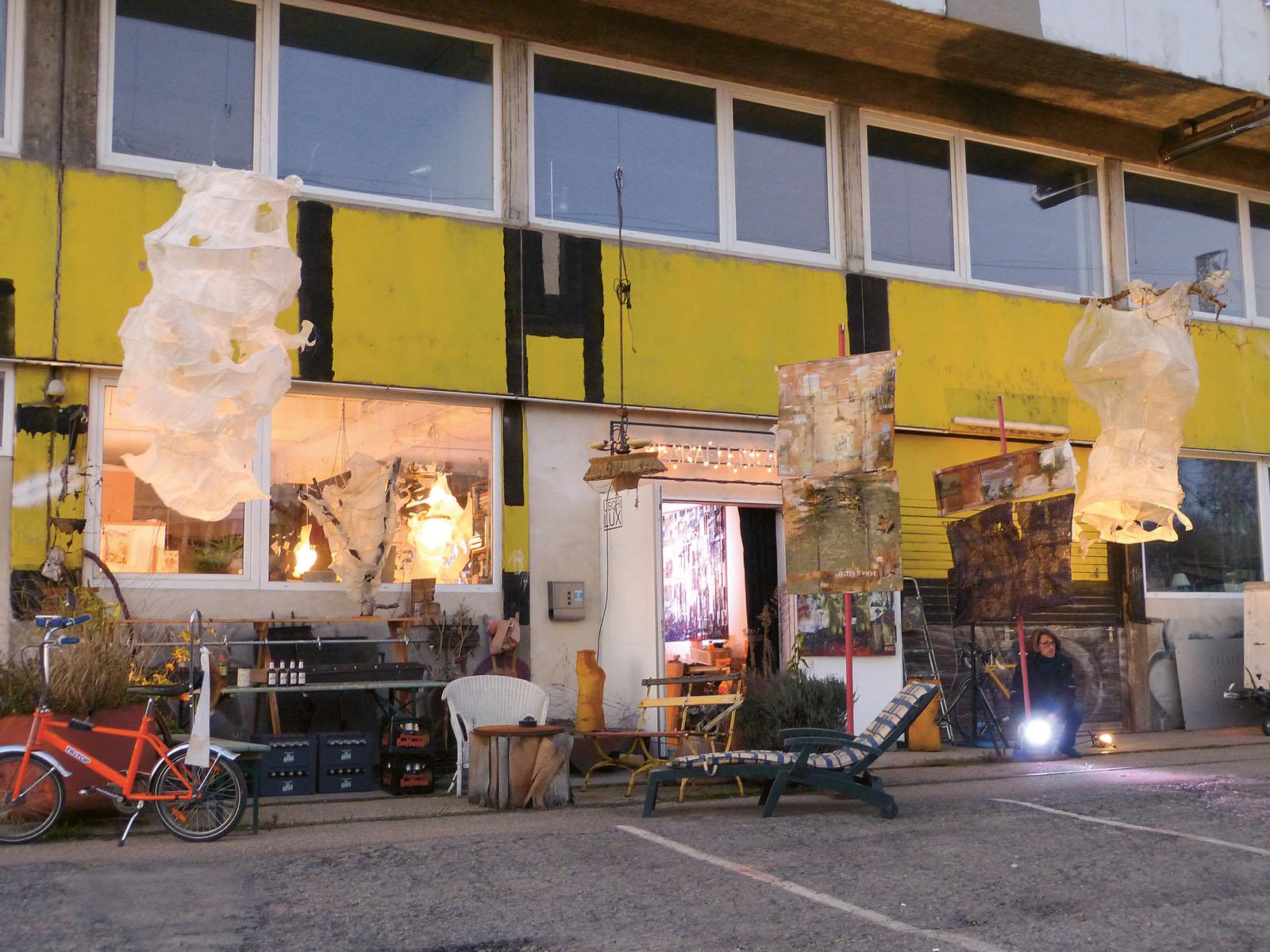 Lange Nacht der Museen Stuttgart - Schick Areal Uschi Lux Aussenansicht