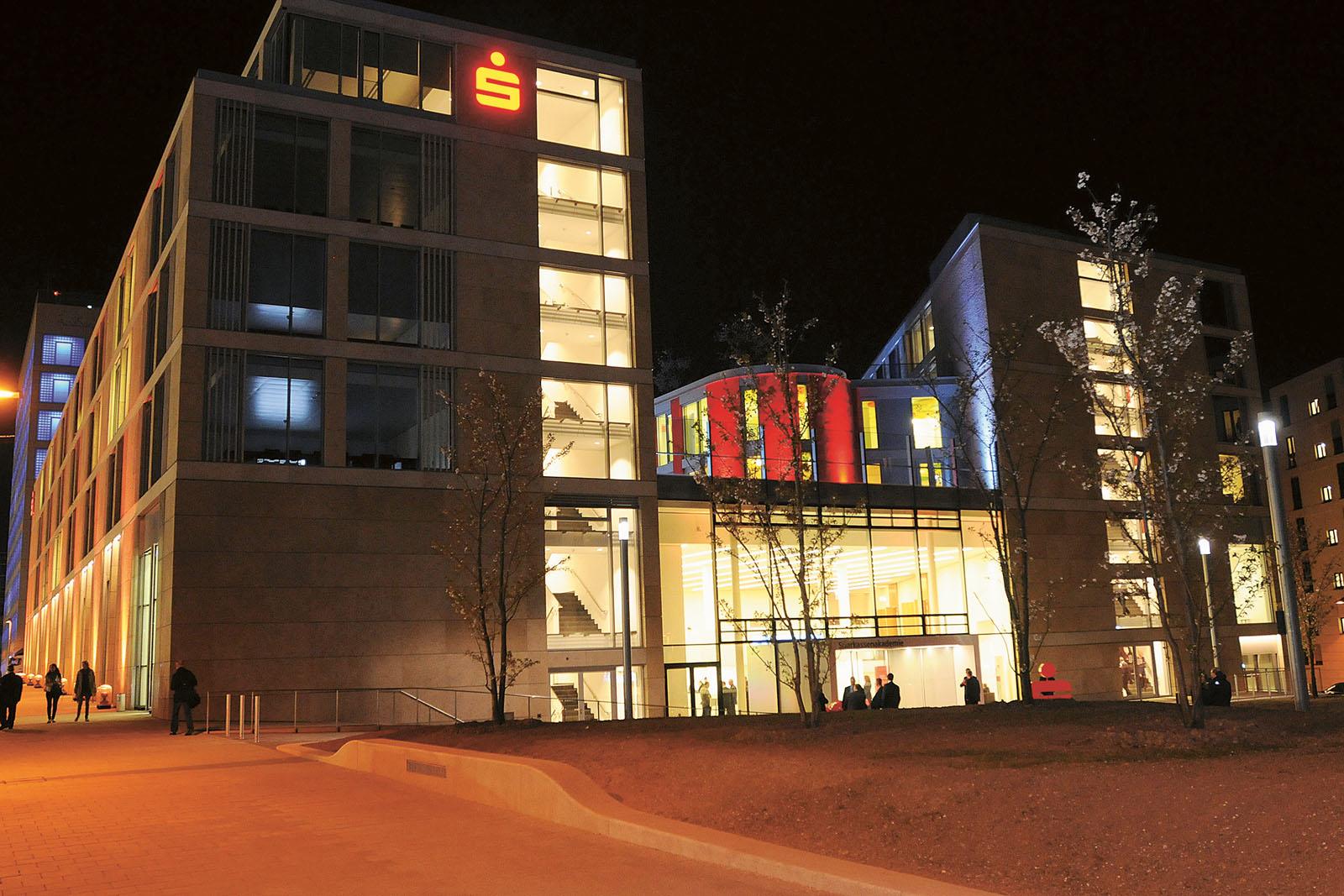 Lange Nacht der Museen Stuttgart - Sparkassenakademie Aussenansicht