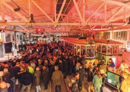 Lange Nacht der Museen Stuttgart - Strassenbahnwelt Grosse Halle 2