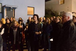 Lange Nacht der Museen Stuttgart - Weissenhofmuseum Kurzfuehrung durch Weissenhofsiedlung