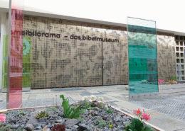 Lange Nacht der Museen Stuttgart - Bibliorama Aussenfassade