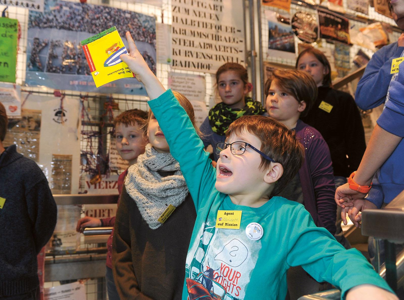 Lange Nacht der Museen Stuttgart - Haus der Geschichte Kinderprogramm