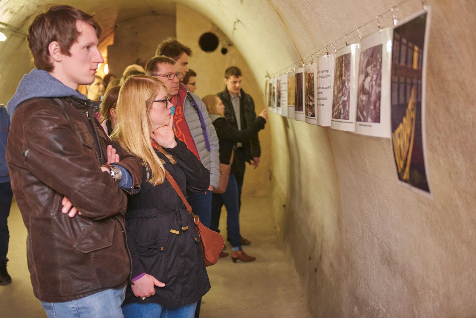 Lange Nacht der Museen Stuttgart - Luftschutzstollen Aufmacherbild